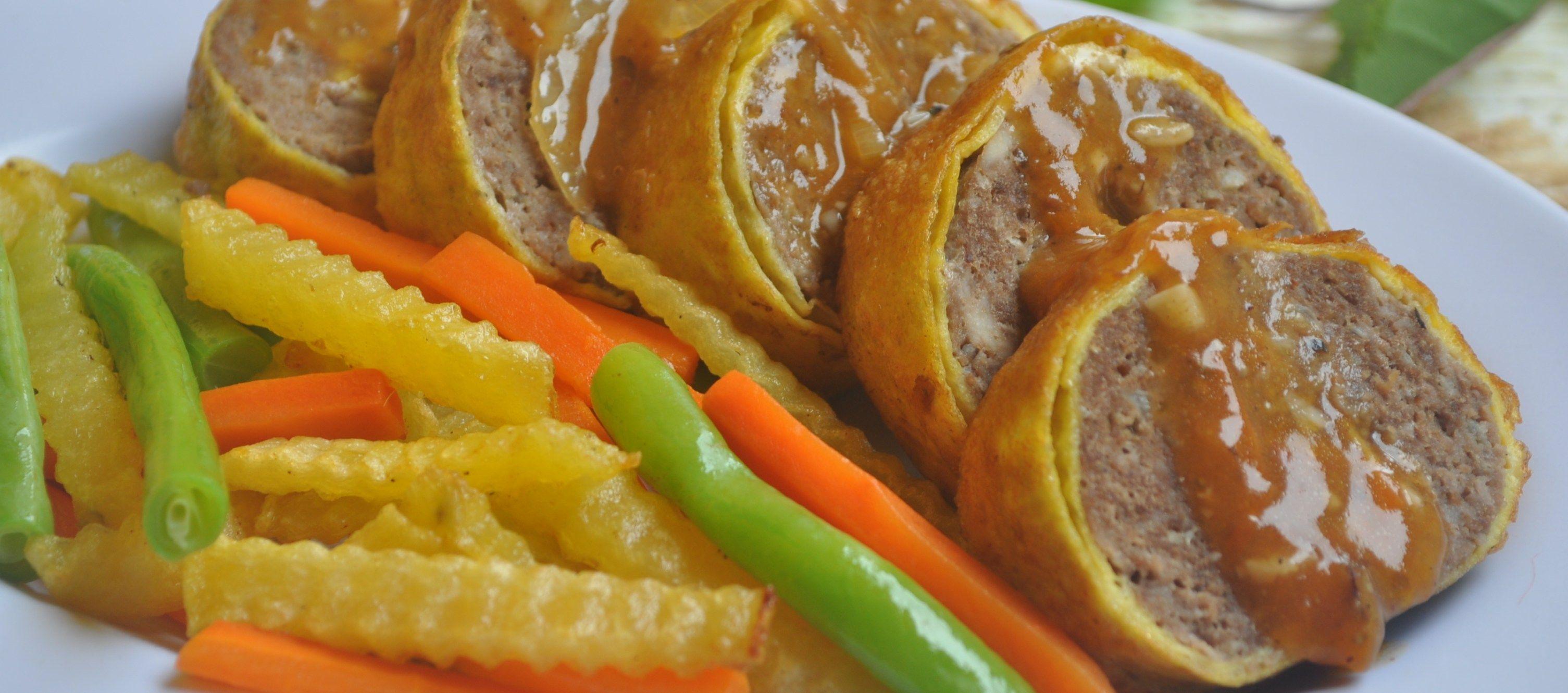 Rolade Daging Sapi Siram Saus Gurih Resep Resepkoki Resep Resep Daging Sapi Daging