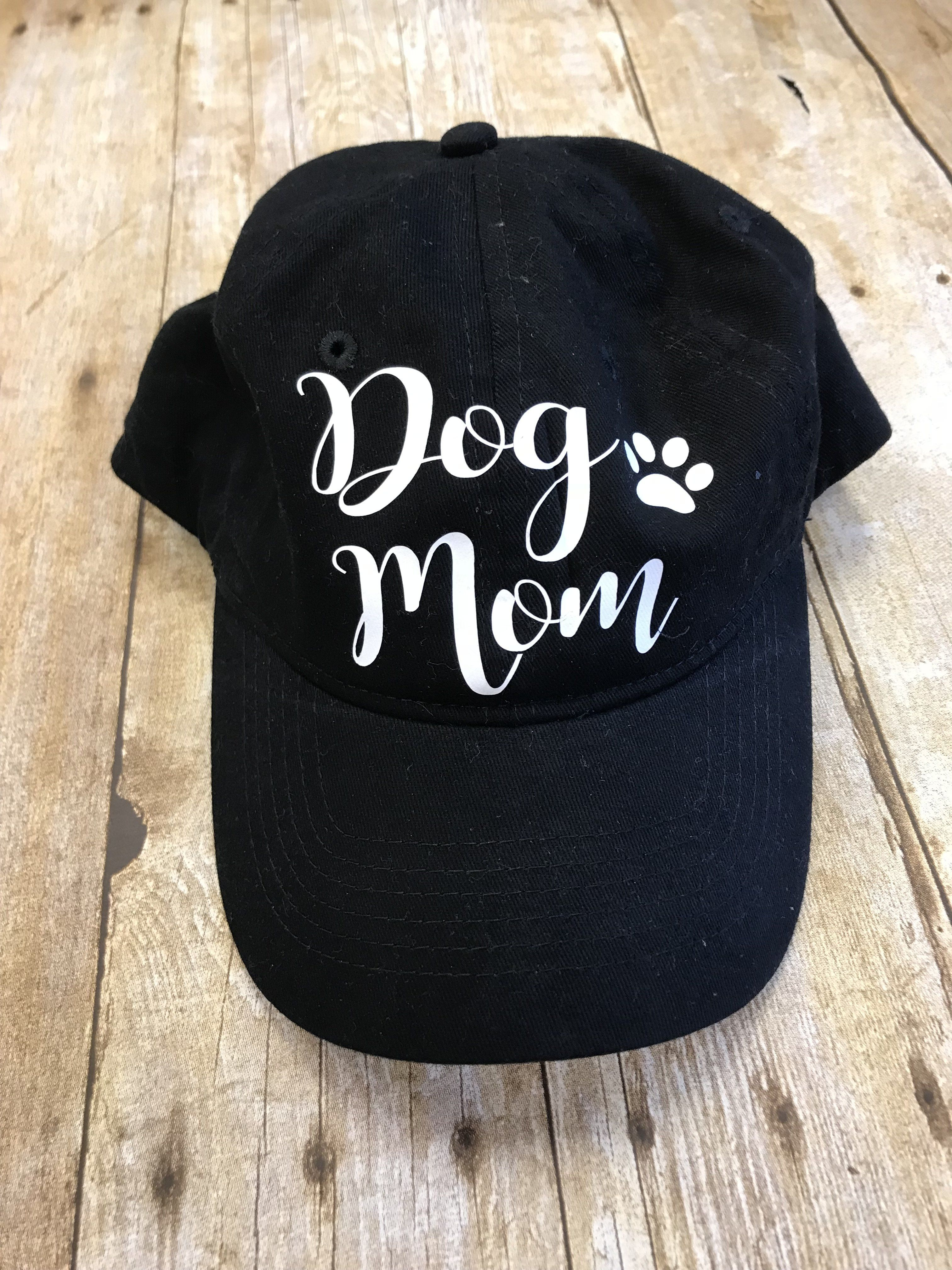 Dog Mom Ball Cap Heat Press Dog Mom Ball Cap Mom Hats Vinyl