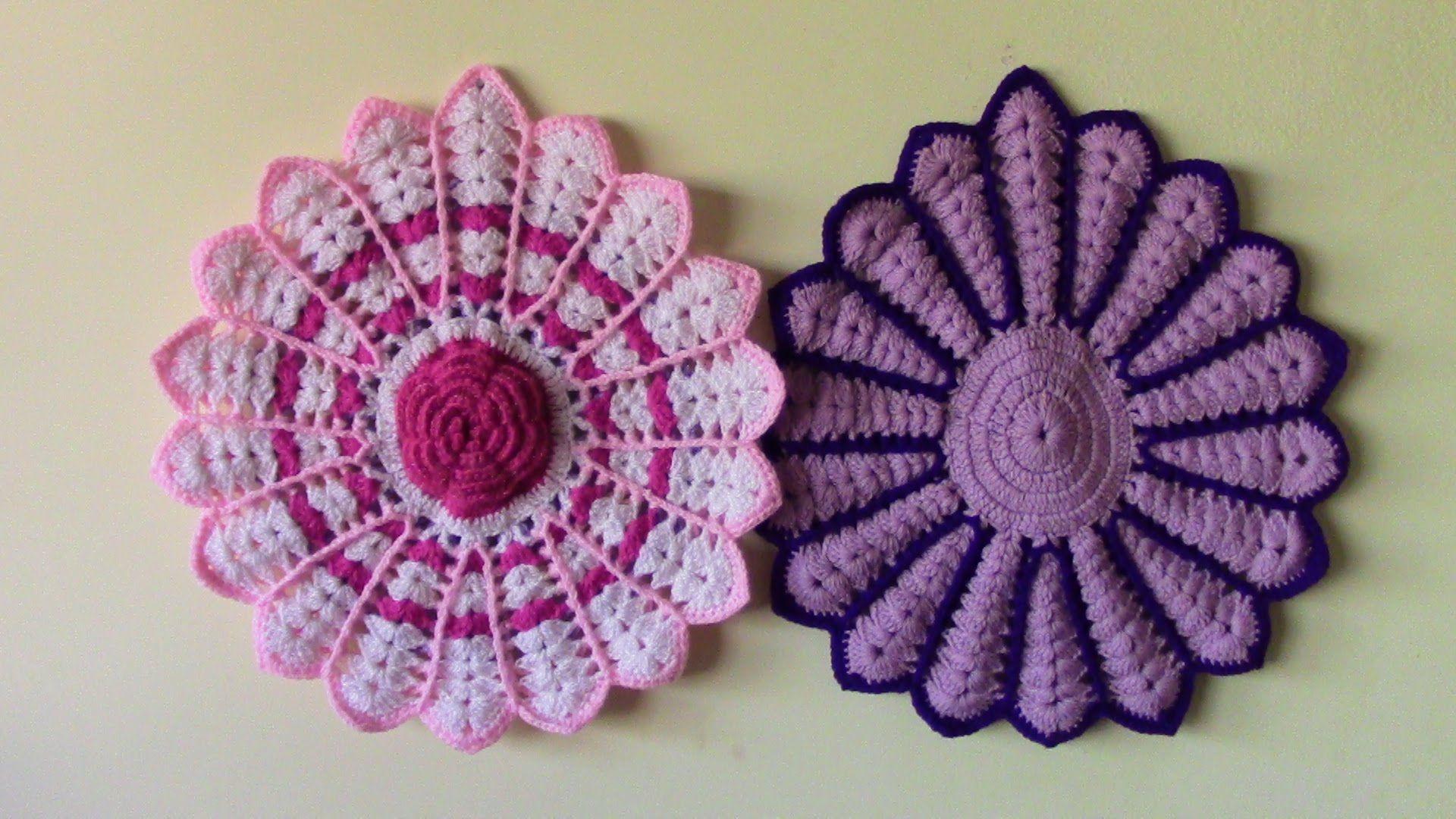Tapetes Para Sillas Tejidos A Crochet Tapete Prekrivaci  # Muebles Punto Paso