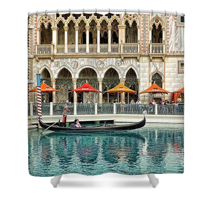 Venetian Las Vegas Shower Curtain