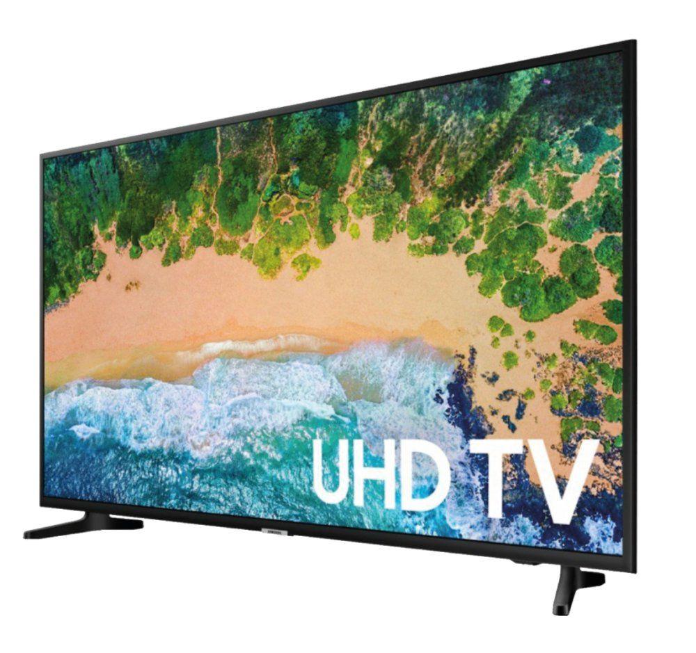 Samsung 43 4k Uhd Hdr Led Tizen Smart Tv Un43tu7000fxzc Titan Grey Best Buy Canada