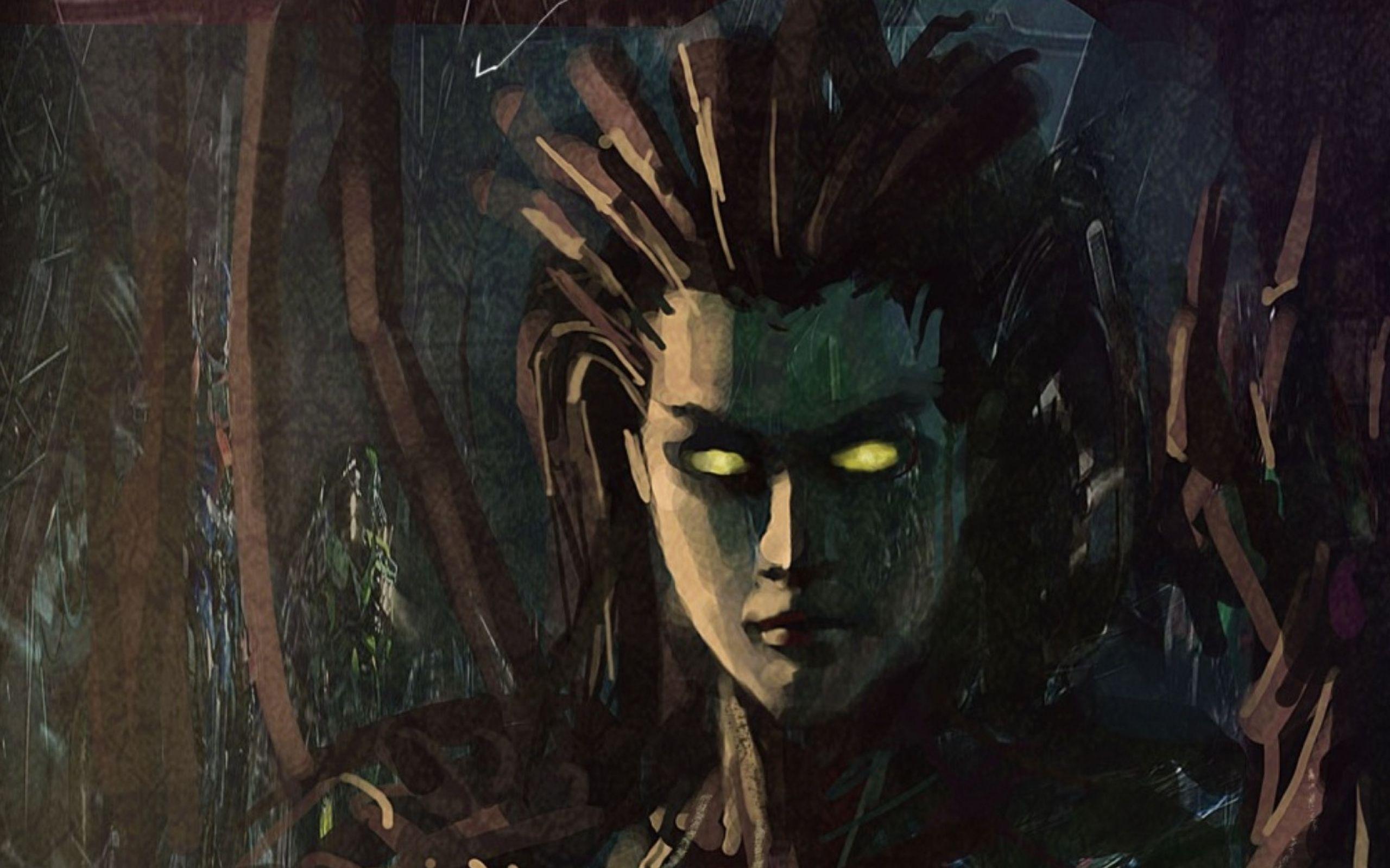 Starcraft fantasy art artwork sarah kerrigan queen of - Sarah kerrigan wallpaper ...