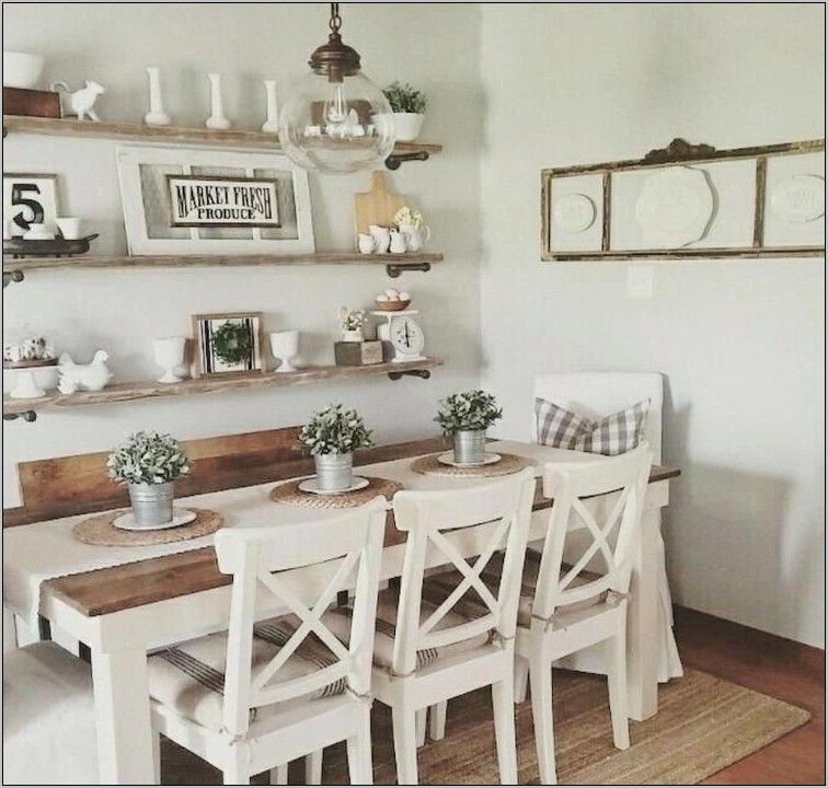 Dining Room Decorating Ideas Uk In 2020 Farmhouse Dining Room Table Farmhouse Dining Room Farmhouse Style Dining Room