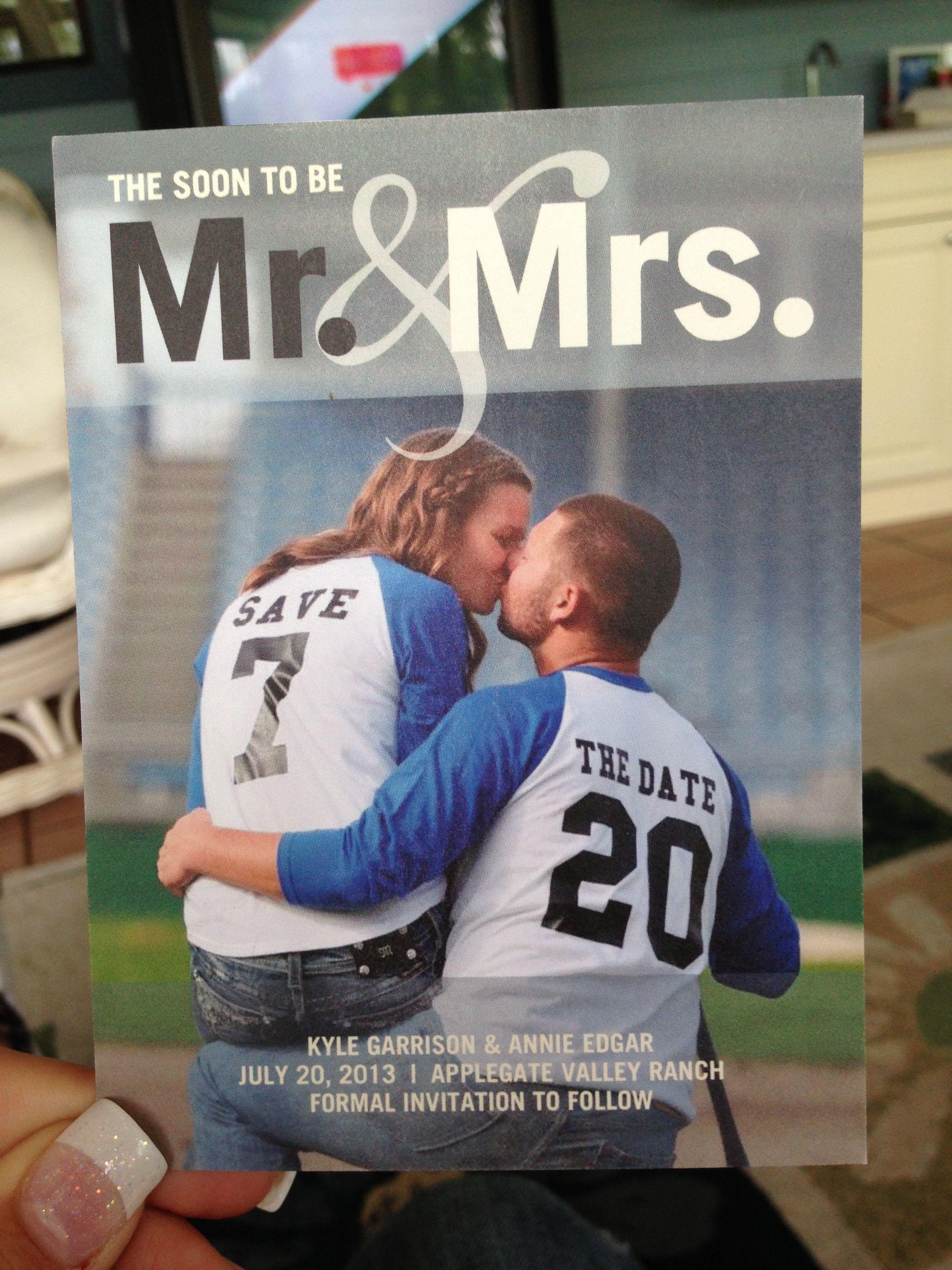 baseball themed save the date wedding pinterest boda bodas