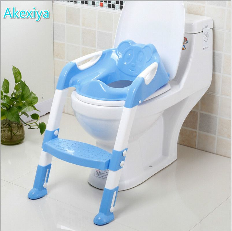Folding Baby Potty Ladder Toilet Seat | Potty training chairs and ...