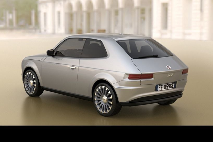 Fiat 127 2015 Concept With Images Fiat New Fiat Concept Cars