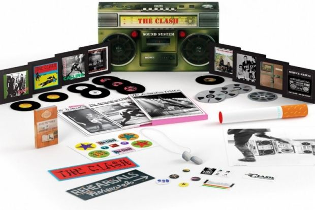 The Clash Sound System Box Set The Clash Hits Back The Clash Pop Culture Gifts Boxset