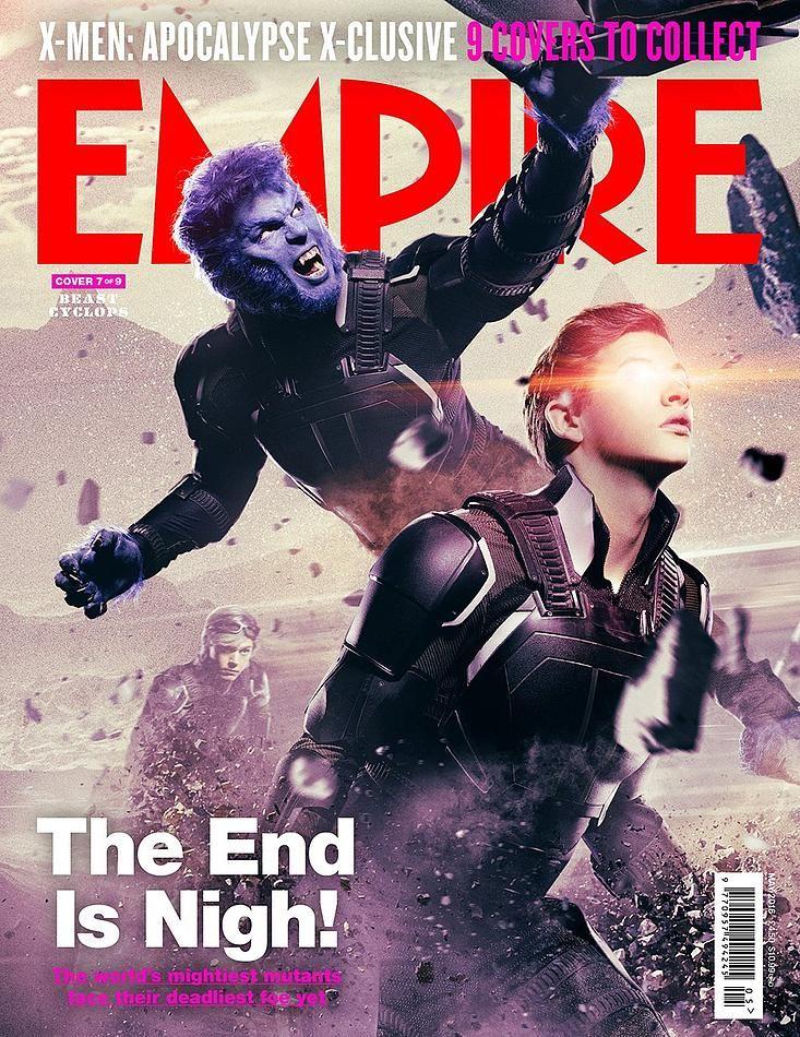 X Men Apocalypse Gets 9 Interlocking Empire Covers X Men Comic Movies Apocalypse