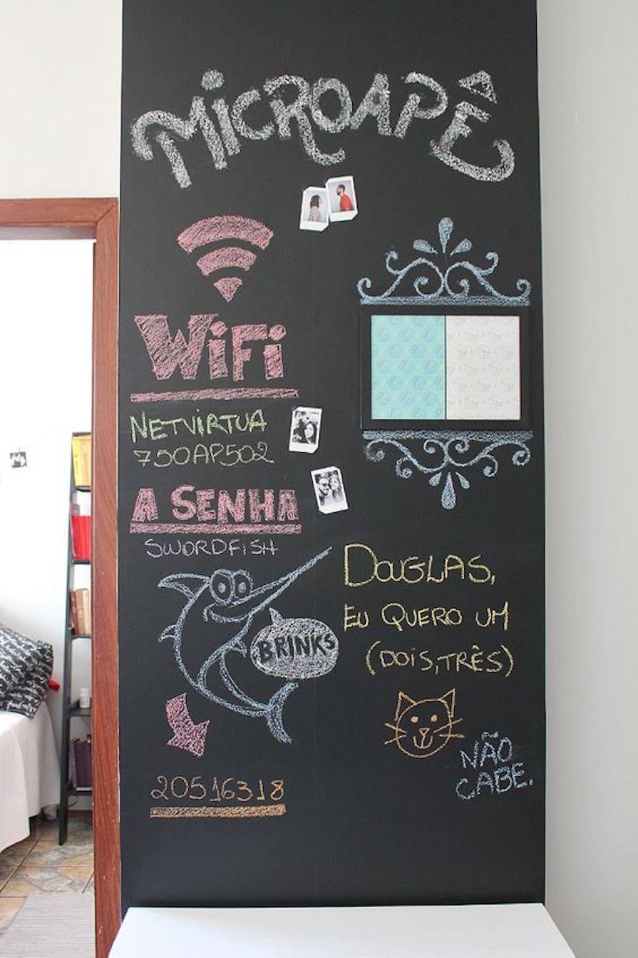 c38682dc9fb Saiba como utilizar a lousa na decoração da sua casa