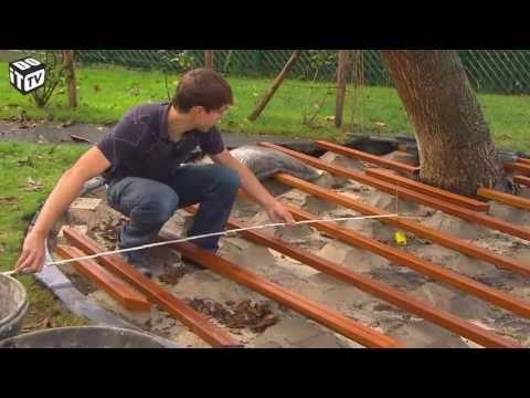 La construction du0027un patio de bois □ Décoration et de Rénovation - construction d une terrasse bois