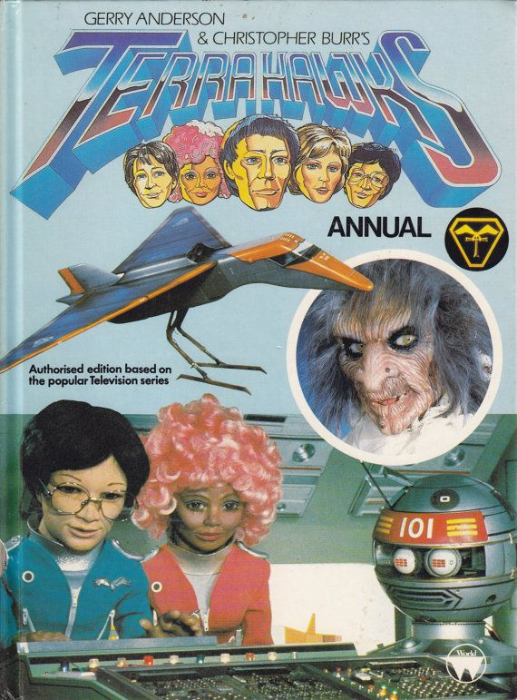 Vintage Childs Annual1980s Terrahawks By ConstantCollectors 100