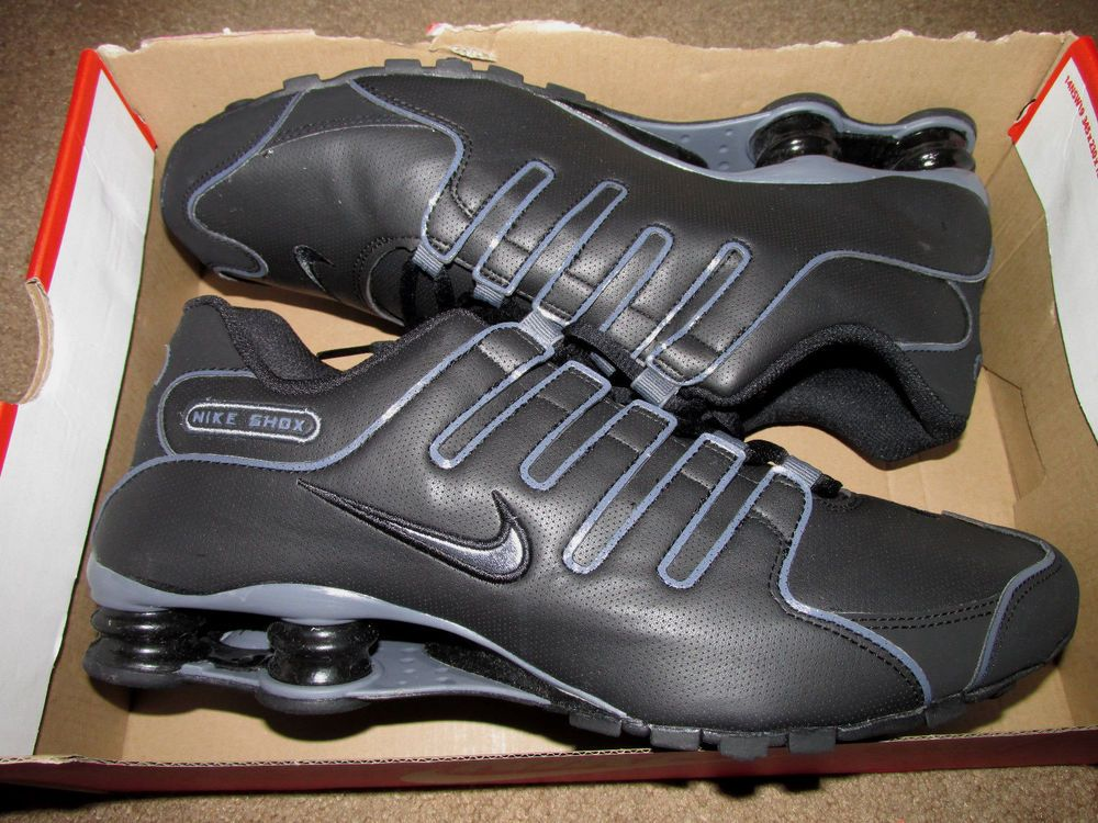 c2d5fa8268b6 Nike Shox NZ SL Mens Running Shoes 11 Black Flint Grey 366363 006  Nike…