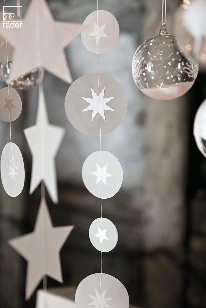 girlanden von r der design ideen pinterest weihnachten transparentpapier und papier. Black Bedroom Furniture Sets. Home Design Ideas