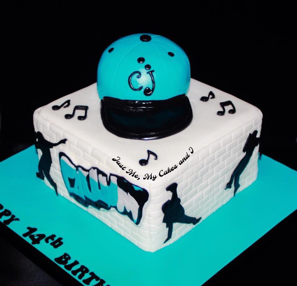 Terrific Hip Hop Dance Cake With Images Dance Cakes Hip Hop Birthday Funny Birthday Cards Online Inifodamsfinfo