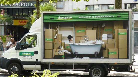 europcar lance un jeu concours pour capturer ses camions utilitaires advertising guerilla. Black Bedroom Furniture Sets. Home Design Ideas