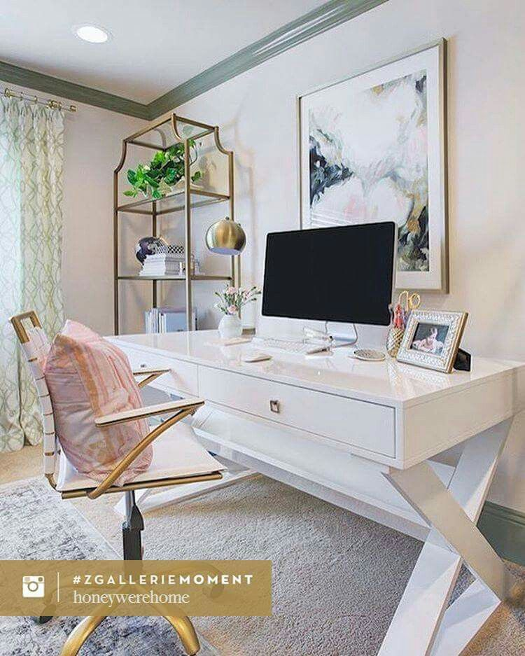 Z Gallerie Office Chair Swing Stand Only Space Pinterest Home Design
