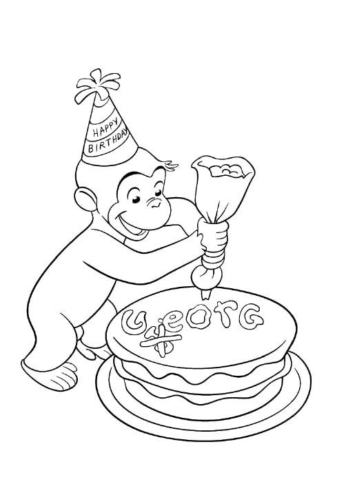 Curious George Curious George Coloring Pages