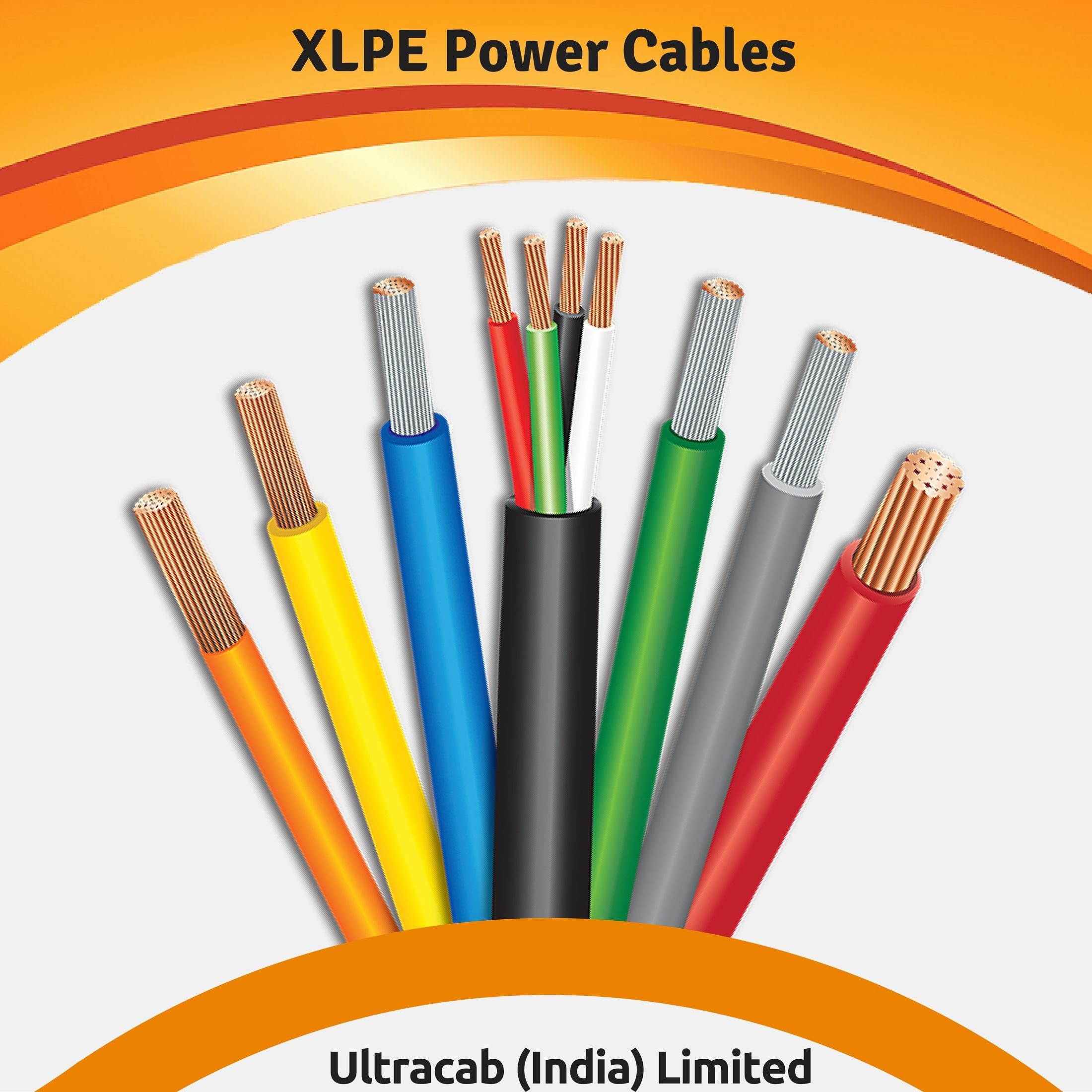 Ultracab Is India Based Heavy Duty Powercablesmanufacturers And Exporters We Are Manufacturing Xlpe Power Cables And Cables Power Cosmetics Advertising
