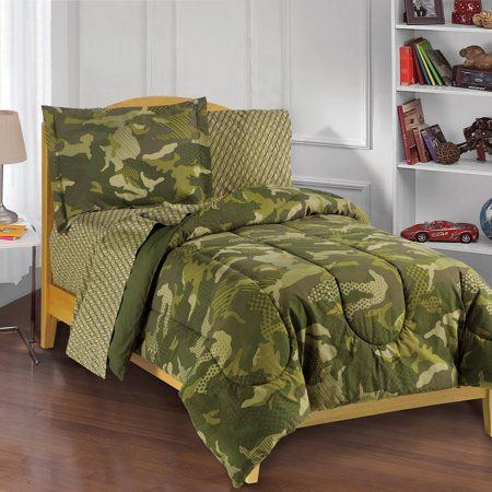 Home Bed In A Bag Camo Bedding Bed