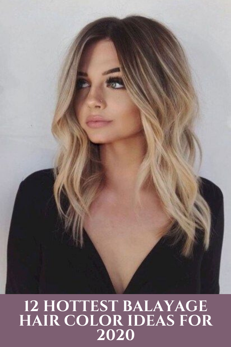 12 Hottest Balayage Hair Color Ideas For 2020 In 2020 Long Thin Hair Hair Styles Haircuts For Fine Hair