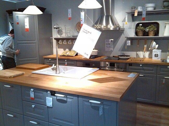 Best Ikea Grey Kitchen Kitchen Home Kitchen Island 400 x 300