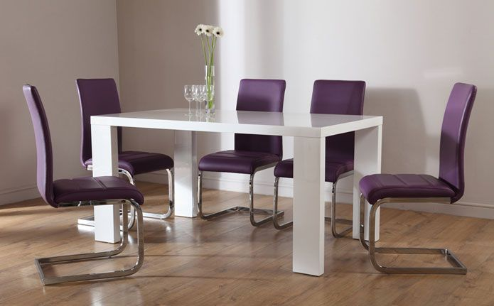 Our Modern Savoy Table Adds A Touch Of Glamour To Any Compact Dining E Leather Sofas Fabric Tub Chairs Sets Tables