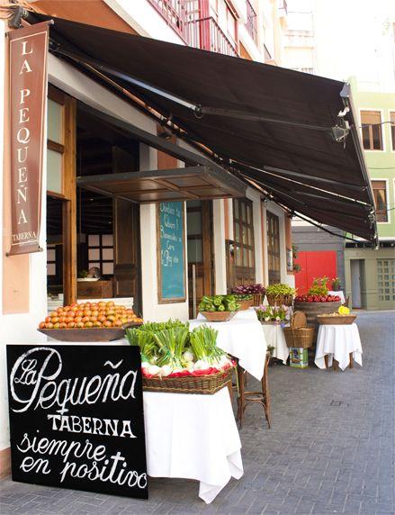 La peque a taberna calle general margallo 30003 murcia - Aprovisionamiento de materias primas en cocina ...
