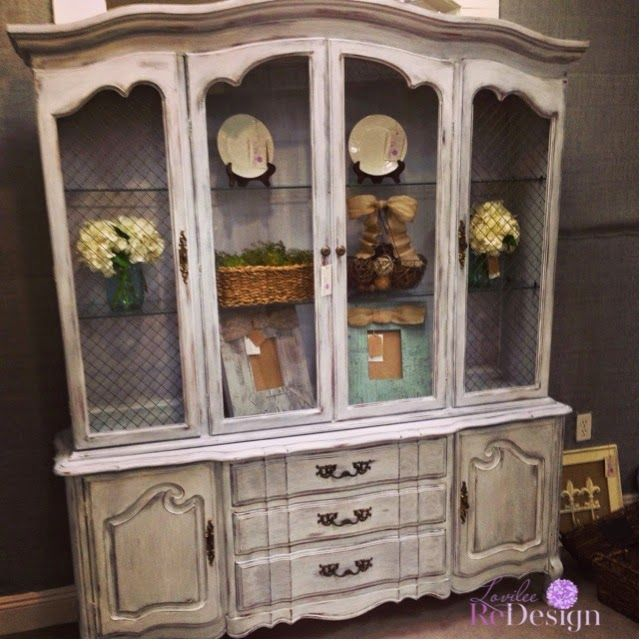 Another Beautiful China Cabinet And An Empire Chest