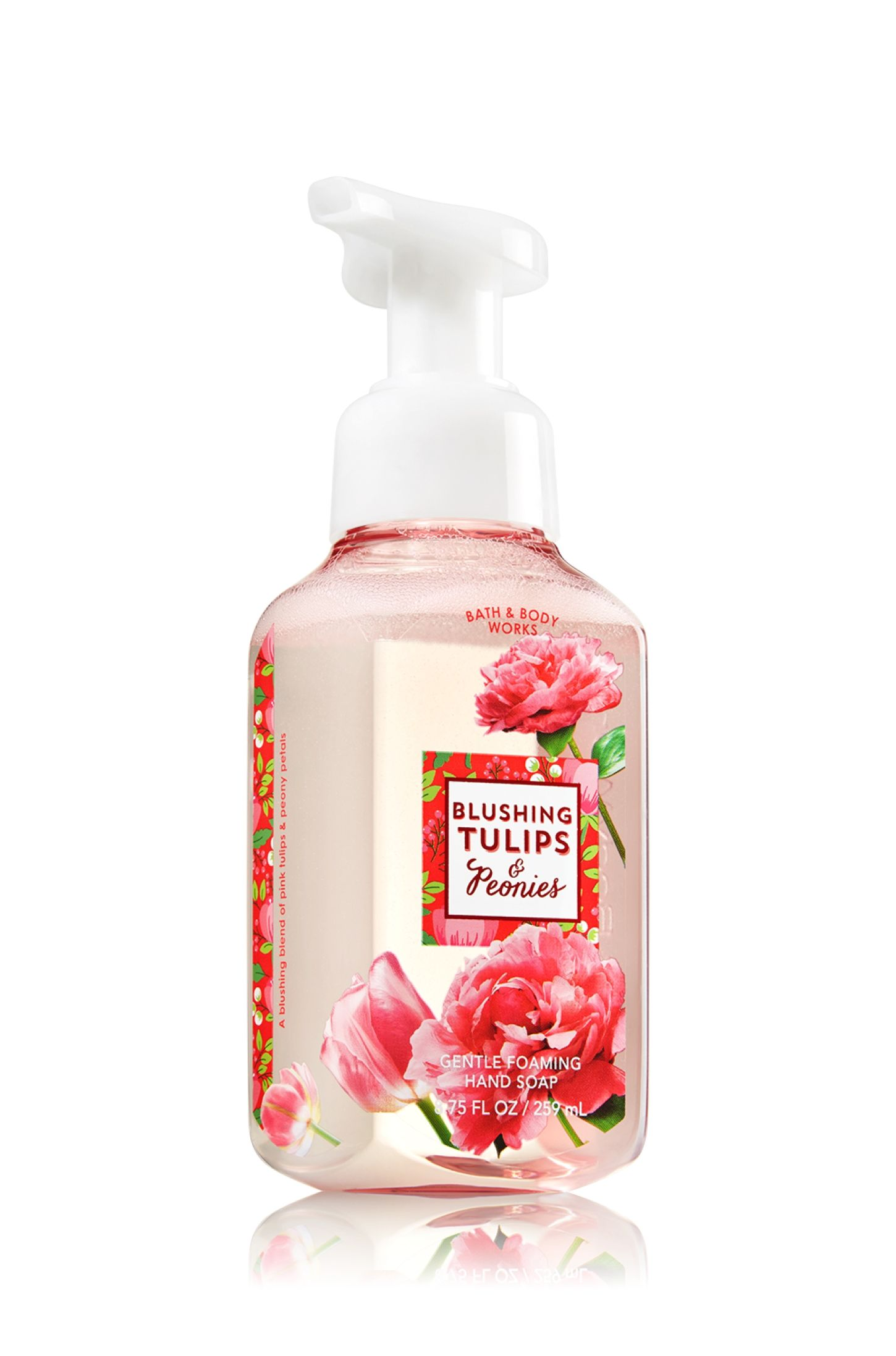 Blushing Tulips Peonies Gentle Foaming Hand Soap Soap