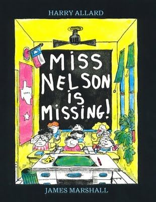 Haven't seen this in awhile! Miss Nelson is Missing! Omg I loved this book!