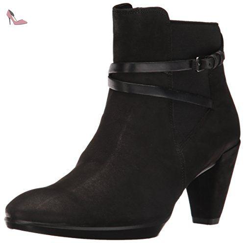 Femme black Noir Platea Bottes Ecco Classiques Shape 55 wAXSnqg0