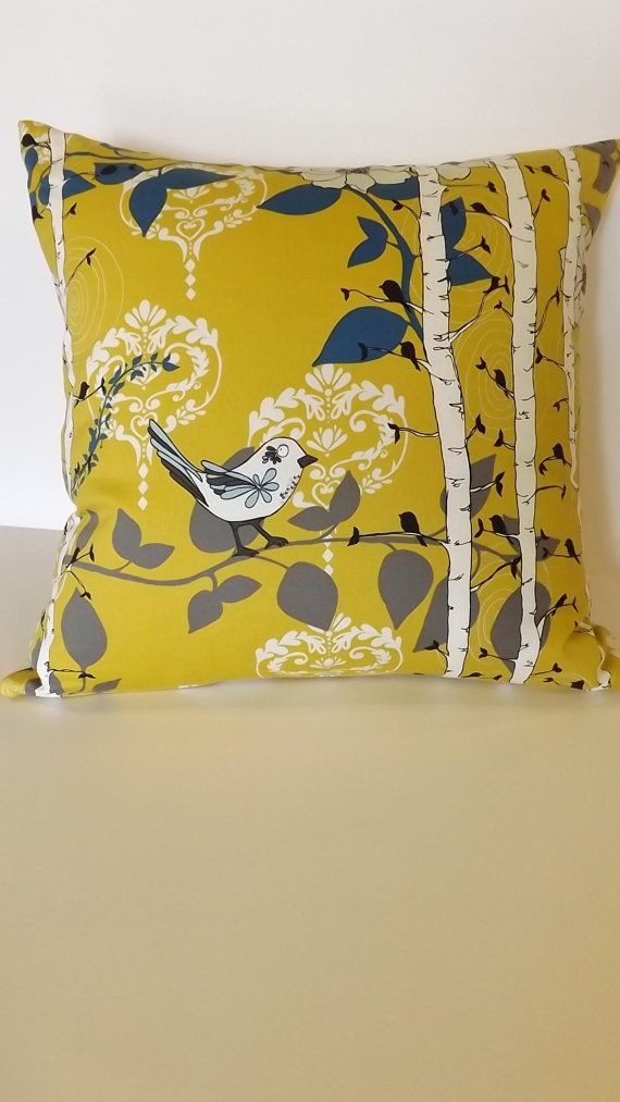 Pillow Cover  20x20 Made with fabric from the by CordiaDesign, $45.00
