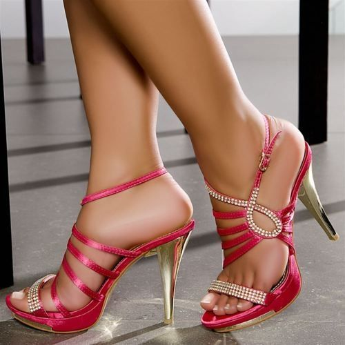 Only Heeled Sandals Women pink