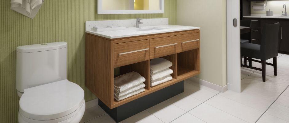Home2 Suites Bathroom Vanity Hotel Design Foliot Furniture