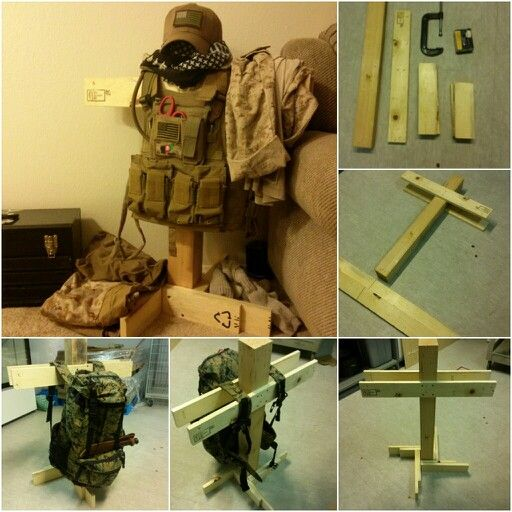 My personal wooden body armor stand & My personal wooden body armor stand | MilSpec | Pinterest | Bodies ...