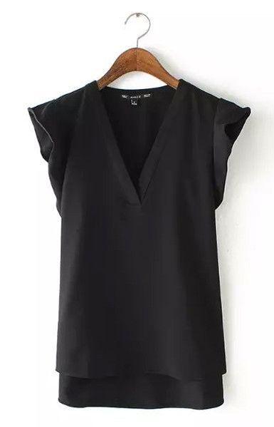 Wavy Sleeves T-Shirts – Trendy Road