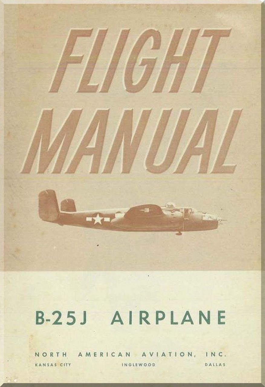 North American Aviation B 25j Aircraft Structural Repair Manual Naa Report 5853 1944 Aviation Repair Manuals Blueprints