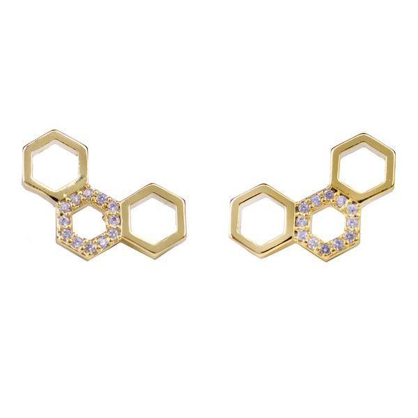 Honeycomb Studs