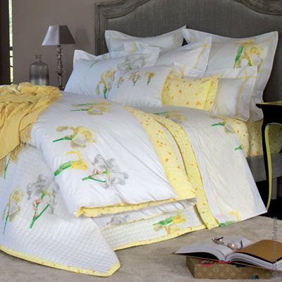Banner Elk White Quilt Bedding Bed Linen Design Bed