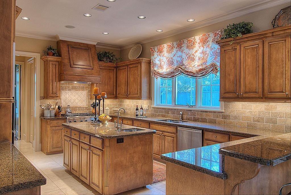 Best Traditional Kitchen With Ms International Desert Brown 400 x 300