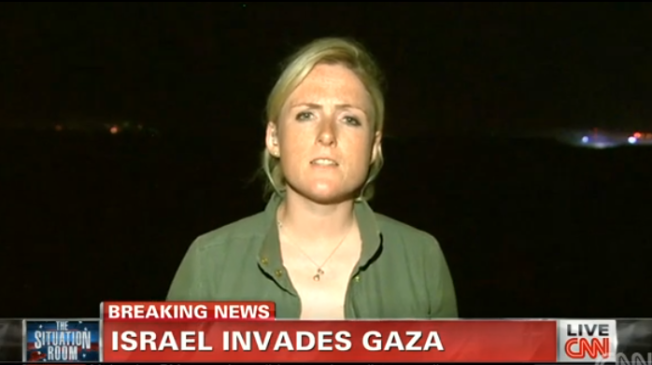 """CNN correspondent Diana Magnay hasn't tweeted since Thursday, when she referred to a group of Israelis who cheered the bombing of Gaza as """"scum."""" And on Friday, the cable news channel said she's no longer covering the conflict."""