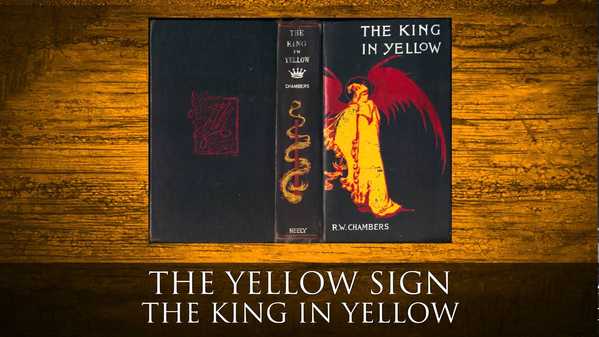 The Yellow Sign - The King in Yellow by Robert W Chambers Audiobook