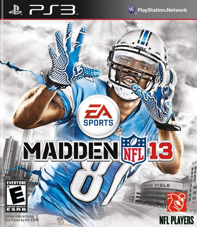 Madden NFL 13 [PlayStation 3] On the cover Calvin