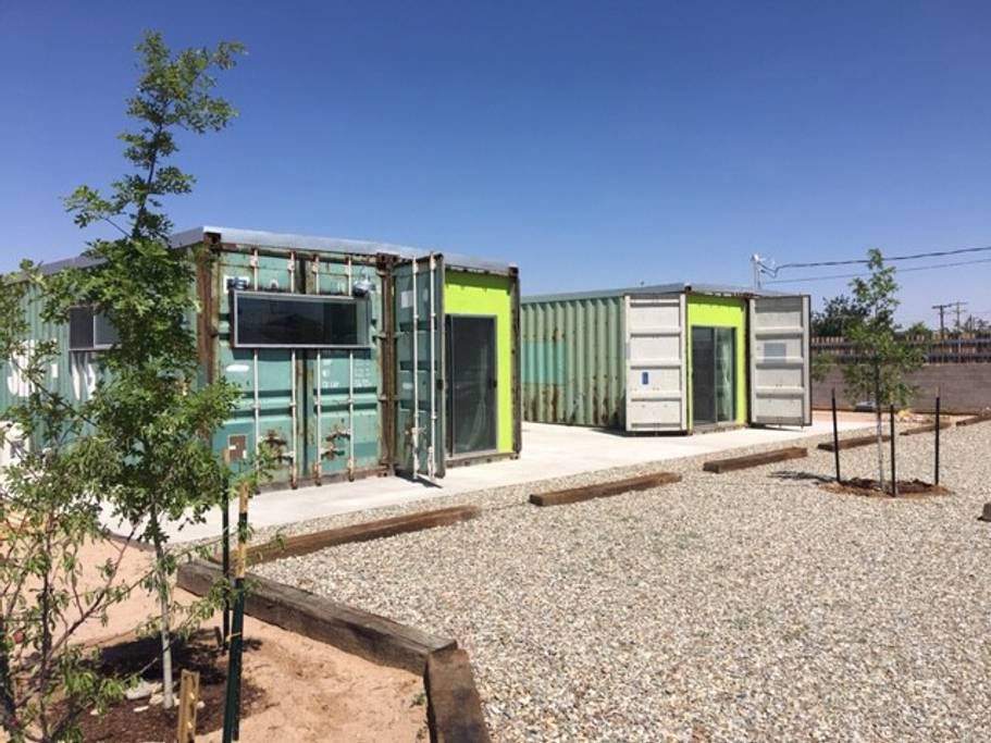 Las Cruces Container Loft The Casa Club Container House Las Cruces Tiny House Design