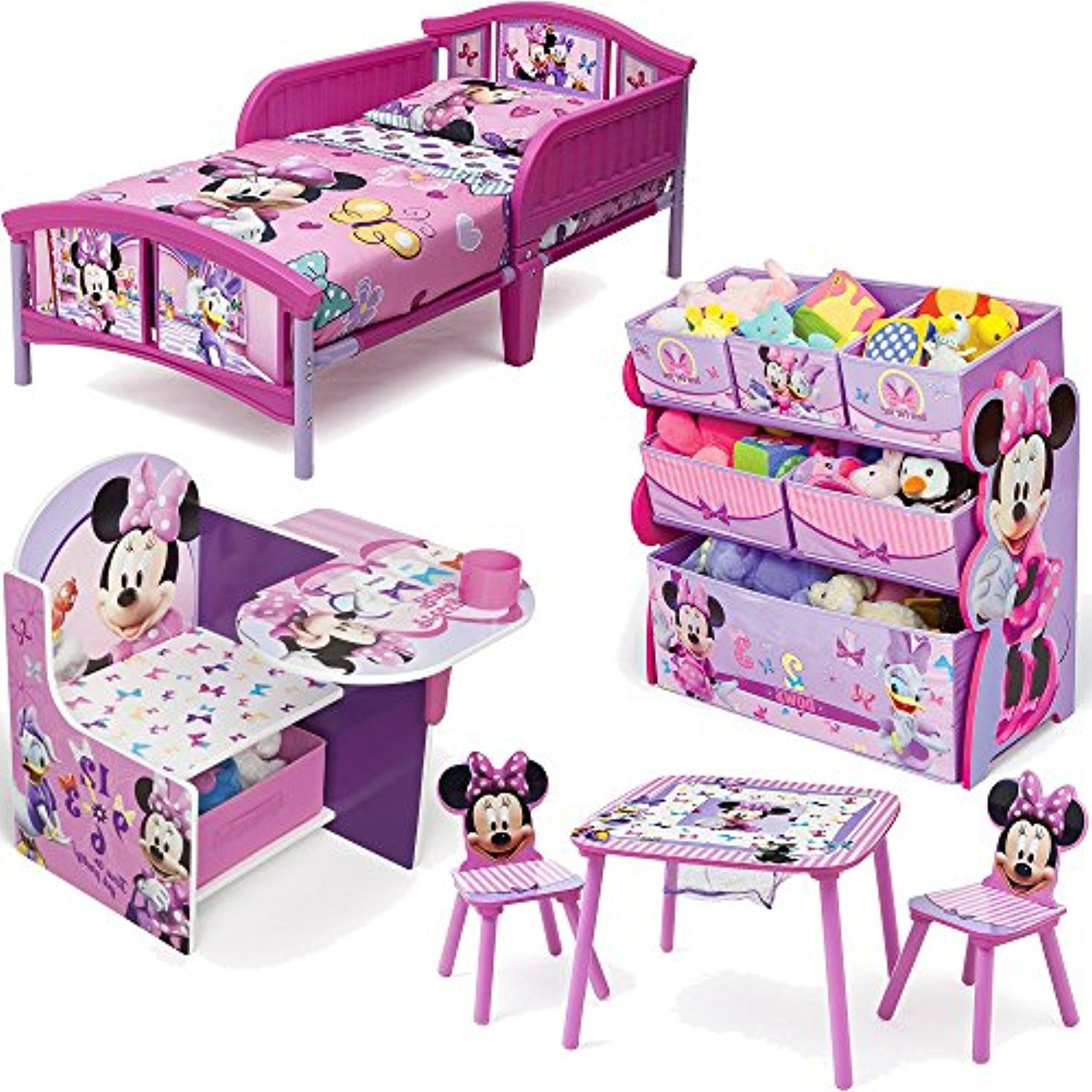 Strange Disney Delta Children Minnie Mouse 6 Piece Furniture Set Pdpeps Interior Chair Design Pdpepsorg
