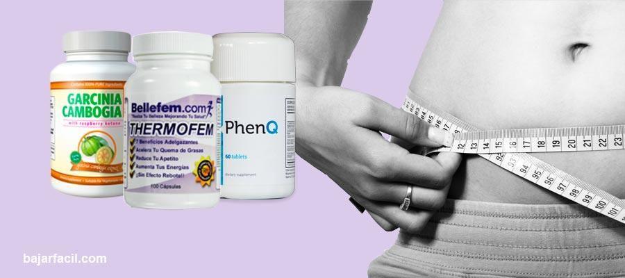 Estos son los nombres de las mejores pastillas para bajar de peso con ingredientes naturales.