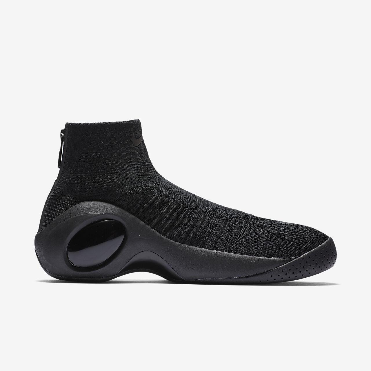 Newest Nike Flight Bonafide Flyknit White Gold 917742 004 Men's Basketbal Shoes Sneakers 917742 004