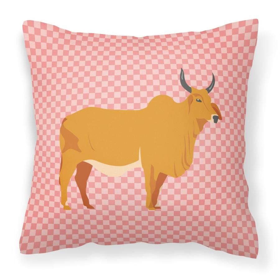 Caroline's Treasures Graphic Print Square Animals Throw Pillow Polyester | BB7825PW1818