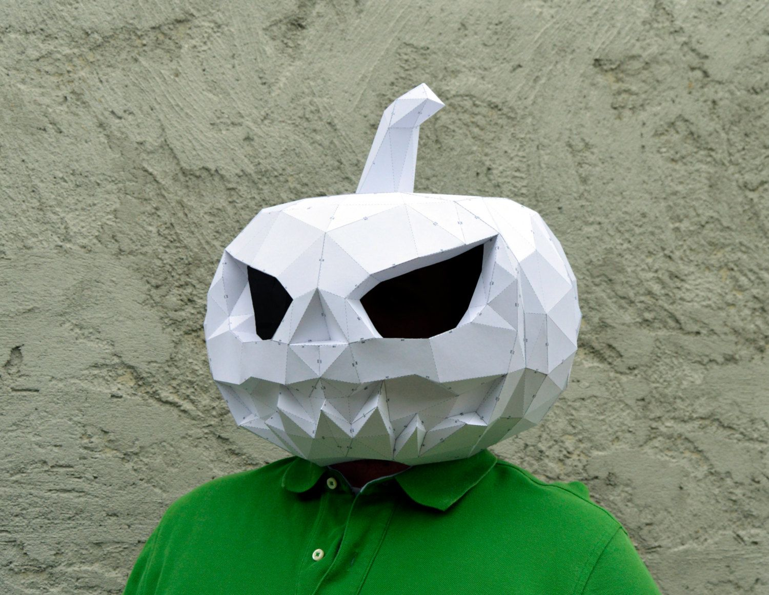 Make Your Pumpkin Mask. | Papercraft Pumpkin Mask | Halloween Mask ...