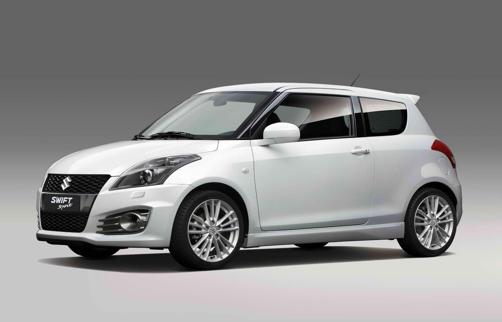 White Suzuki Swift Suzuki Swift Sport Suzuki Swift Suzuki
